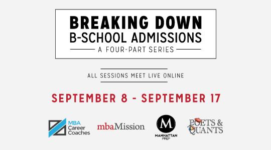 Breaking Down B-School Admissions