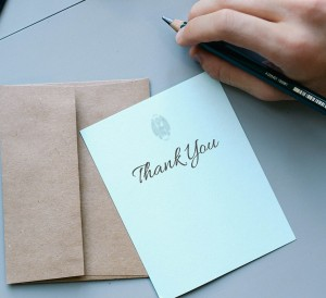 Mission Admission: What Makes a Good Thank You Note? - mbaMission