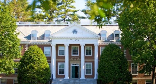 Alumni Generosity at Dartmouth Tuck - mbaMission