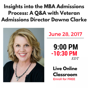 Veteran Admissions Director Dawna Clarke to Host Free Q&A Session