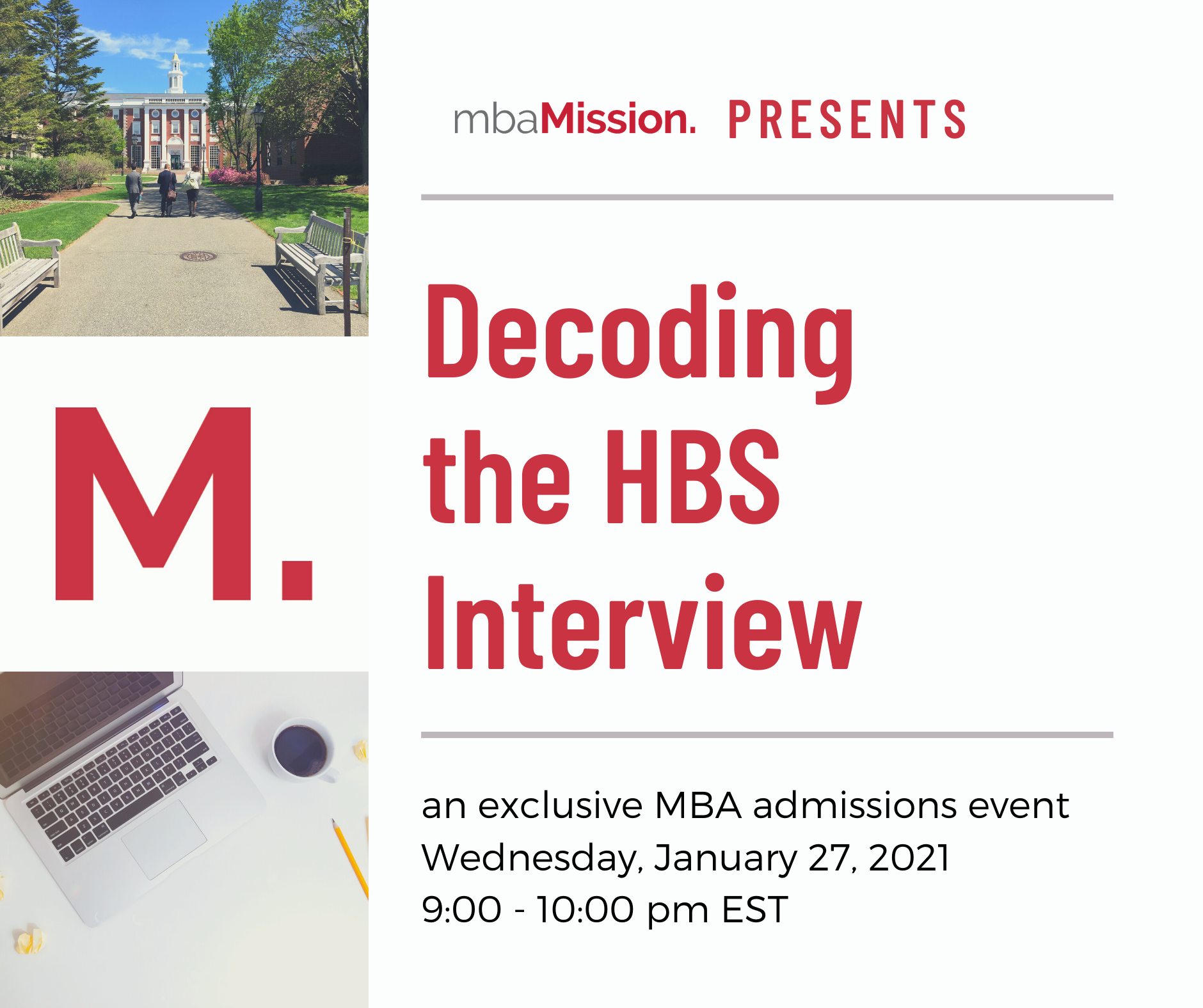 Decoding the HBS Interview: A New Webinar HBS Applicants